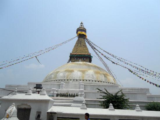 Stupa Kathmandu Arriving in Kathmandu, Nepal | Part Deux
