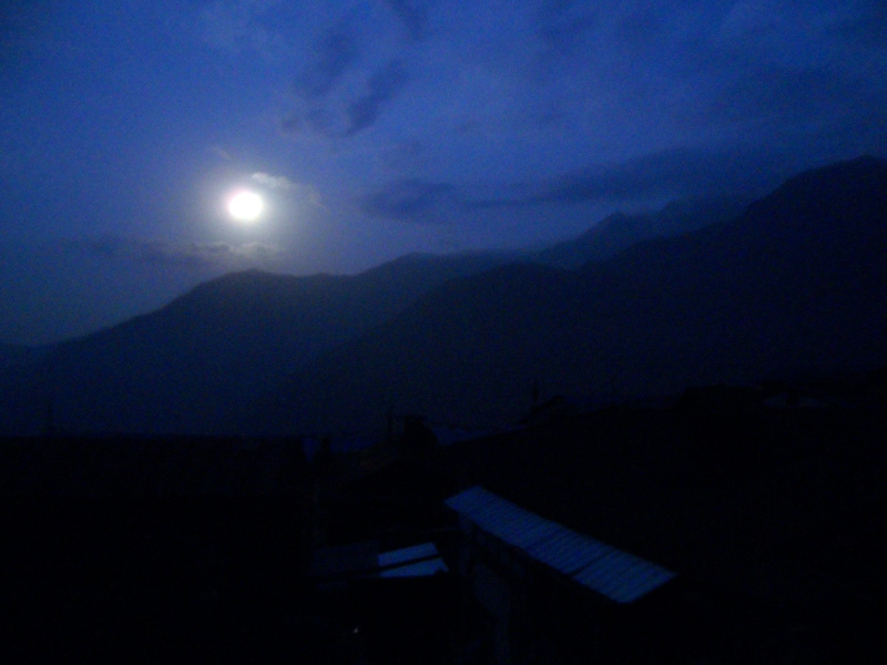 Moon over the Himalayas Last Minute Travel Ideas | 2013