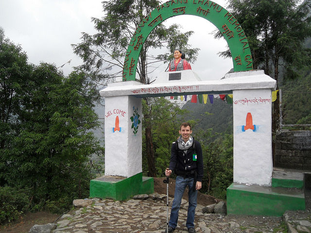 Nepal - Start of our journey hiking