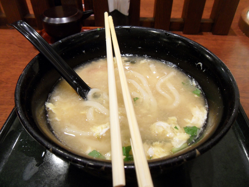 Japanese Noodles at the Airport What I Learned about Japanese Food