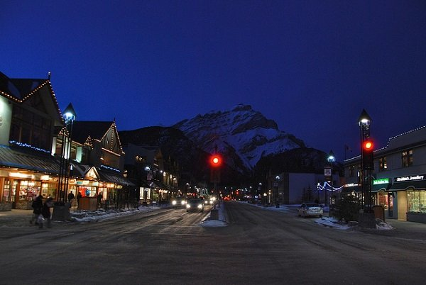 Banff Canada in the snow Best Snowy Winter Escapes for the Holidays | 2013