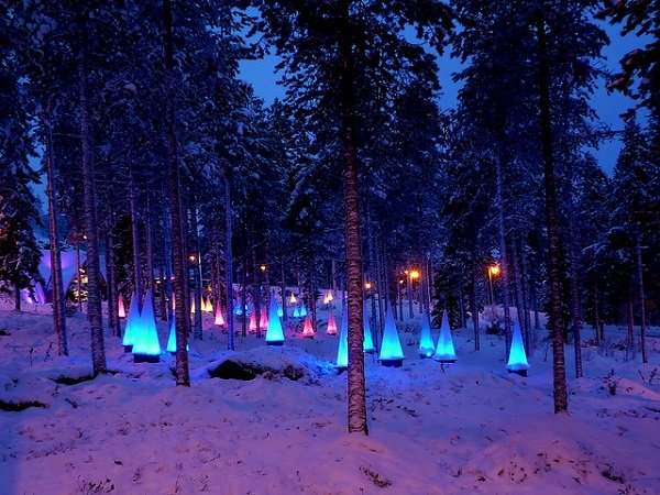 Lapland Finland in the snow Best Snowy Winter Escapes for the Holidays | 2013