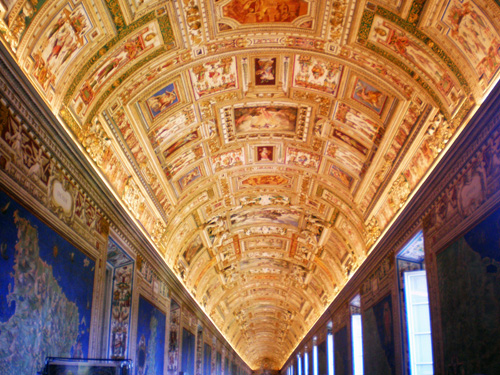 Gallery of Maps Walking the Sistine Chapel