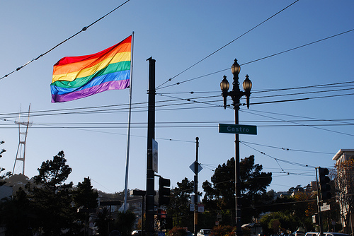 gay flag san francisco The Top GayCities in the World