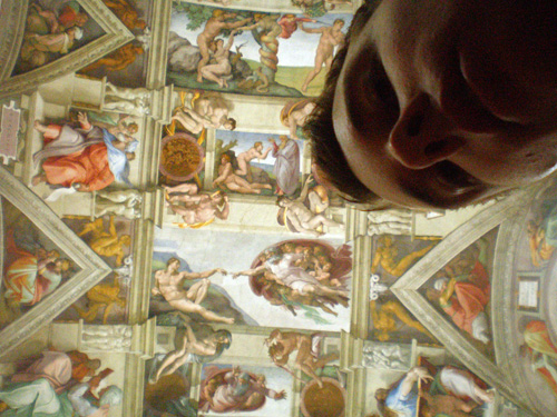 walking the sistine chapel Walking the Sistine Chapel