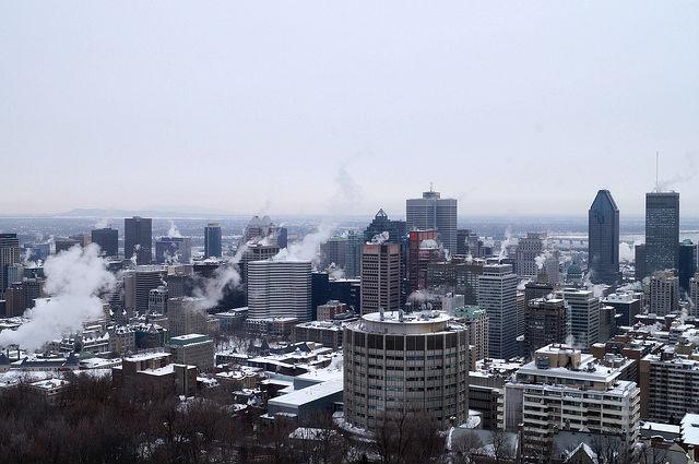 Montréal Québec - View of Montreal