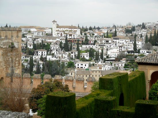 Albayzin from Alhambra Granada | Spains White City