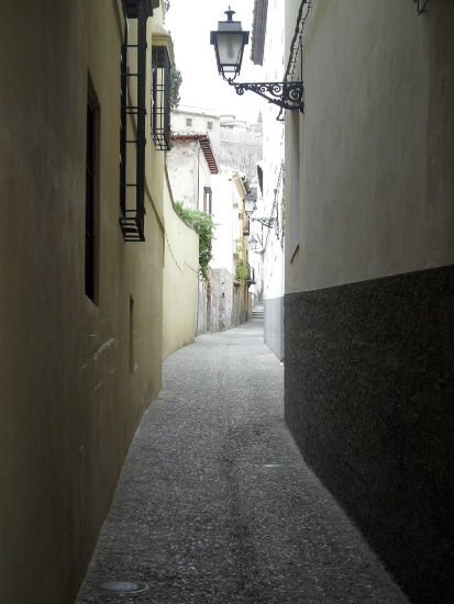 Street in Albayzin Granada | Spains White City