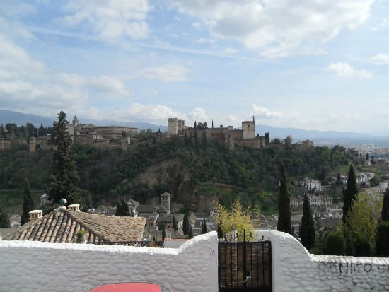 The Alhambra from Albayzin Granada Granada | Spains White City