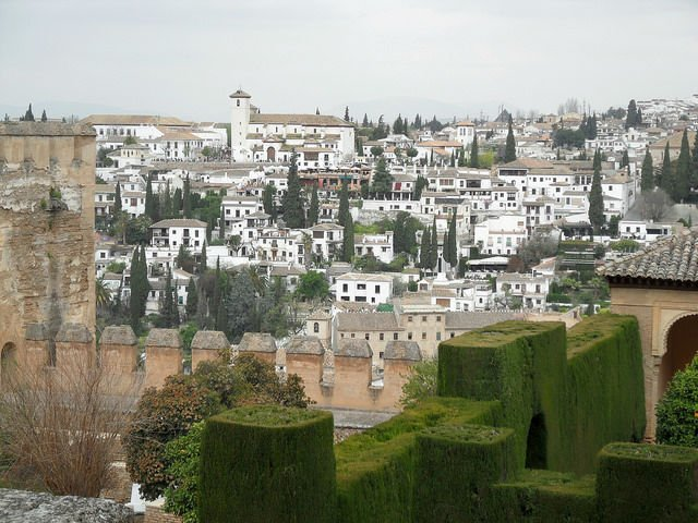 View of Albayzin Granada | Spains White City