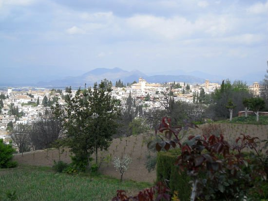 View of Granada from Alhambra Granada | Spains White City