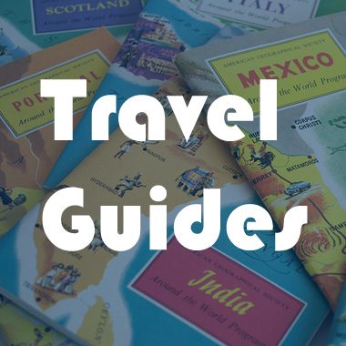 travel guides box picture