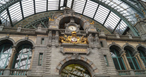 Bruges to Amsterdam Train - Antwerp Train Station