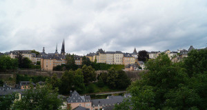 Luxembourg City - View of the Old City