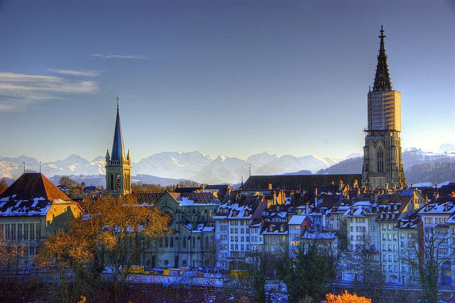 Beautiful Bern Switzerland
