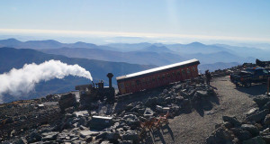 Mount Washington - The Cograil coming up