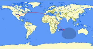What is the Furthest Point From - Great Circle Mapper