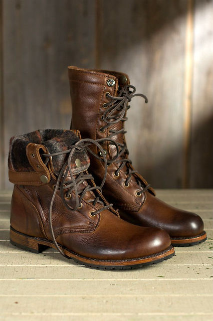 Stylish Mens Boots For Traveling 2015 Walk Over Ian Fold Over