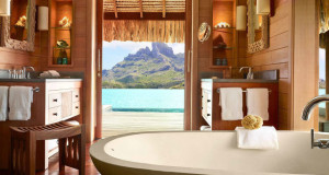 Best Retreat Destinations - 2015 - Bora Bora bungalow