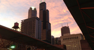 Weekend in Chicago - Downtown Chicago from LaSalle Train Station