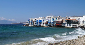 My Day in Mykonos Greece - Little Venice in Mykonos