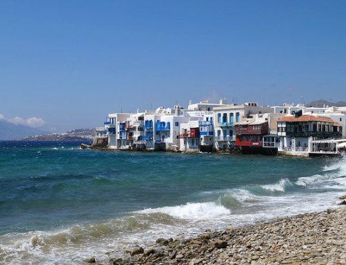 My Day in Mykonos, Greece