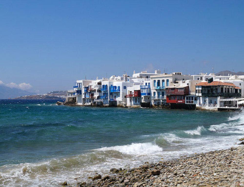 My Day in Mykonos, Greece