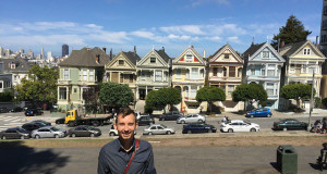 My First Time in San Francisco - Painted Ladies